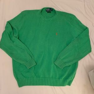 Vintage POLO Ralph Lauren Sweater UNISEX! 💚🧡